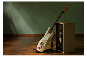 神戸岡本をちこちではギターの貸し出しを行っています