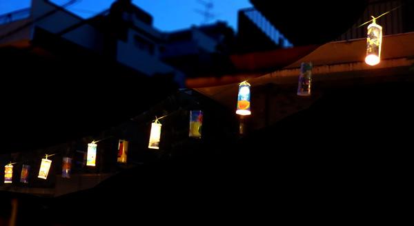 岡本坂提灯